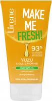 Lirene - MAKE ME FRESH! - Owocowy żel do mycia twarzy - Cera sucha i normalna - Yuzu & Olej z Moringi - 150 ml