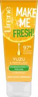 Lirene - MAKE ME FRESH! - Drobnoziarnisty peeling z witaminami - Cera sucha i normalna - Yuzu & Pestki Liczi - 75 ml