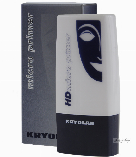 Kryolan - HD Micro Primer - Bezbarwna baza pod makijaż - 19098