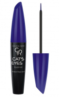 Golden Rose - CAT'S EYES EYELINER - Tusz do kresek w płynie - MATTE BLUE