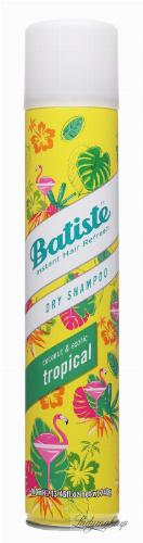 Batiste - Dry Shampoo - Dry hair shampoo - TROPICAL - 400 ml