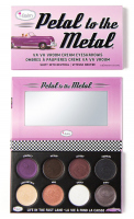 THE BALM - Petal to The Metal - Va Va Vroom Cream Eyeshadows - Palette of 8 metallic eye shadows in cream - Shift into Neutral