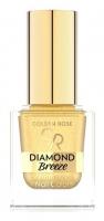 Golden Rose - Diamond Breeze - Shimmering Nail Color - Brokatowy lakier do paznokci - 10,5 ml - 01 - 24K GOLD - 01 - 24K GOLD