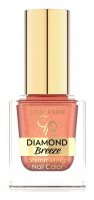 Golden Rose - Diamond Breeze - Shimmering Nail Color - Brokatowy lakier do paznokci - 10,5 ml - 03 - RUSSET SPARKLE - 03 - RUSSET SPARKLE