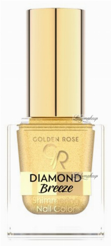 Golden Rose - Diamond Breeze - Shimmering Nail Color - Brokatowy lakier do paznokci - 10,5 ml