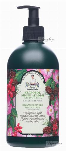Agafia - Recipes Babuszki Agafii - Nourishing liquid soap for the body and hands - Siberian cedar - 500 ml