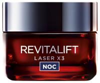 L'Oréal - REVITALIFT LASER X3 - Krem-maska anti-age na noc - 40+