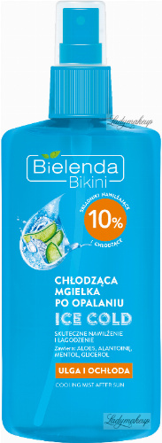 Bielenda - Bikini - ICE COLD - Walking mist after sunbathing - 150 ml
