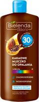 Bielenda - Bikini - Wodoodporne kakaowe mleczko do opalania - SPF 30 - 200 ml