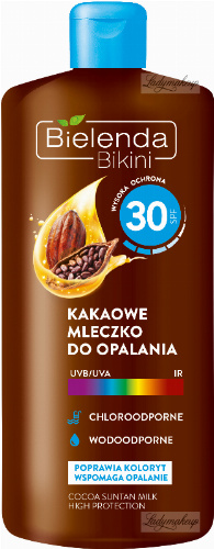 Bielenda - Bikini - Waterproof cocoa lotion - SPF 30 - 200 ml