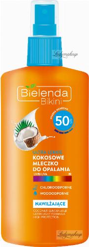 Bielenda - Bikini - Ultra light coconut sun lotion spray - Waterproof - SPF 50 - 200 ml
