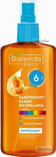 Bielenda - Bikini - Waterproof carotene tanning oil - SPF 6 - 150 ml