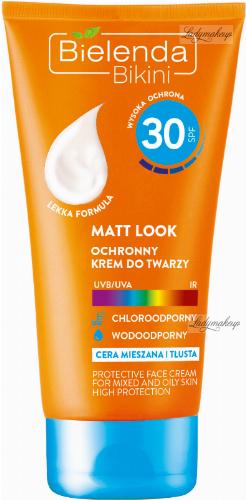 Bielenda - Bikini - Matt Look - Waterproof protective face cream - SPF 30 - 50 ml