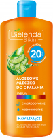 Bielenda - Bikini - Aloe sun lotion - Waterproof - SPF 20 - 200 ml