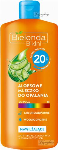 Bielenda - Bikini - Aloe sun lotion - Waterproof - SPF 20 - 200 ml
