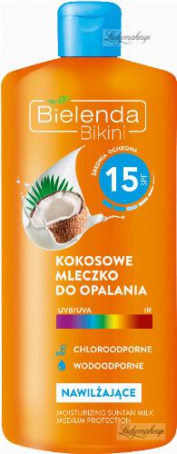 Bielenda - Bikini - Coconut lotion - Waterproof - SPF 15 - 200 ml