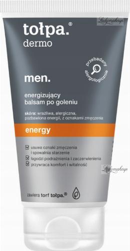 Tołpa - Dermo Men Energy - Energizujący balsam po goleniu - 125 ml