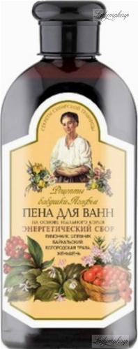 Agafia - Recipes Babuszki Agafii - Energizing bath foam based on soapwort root - 500 ml