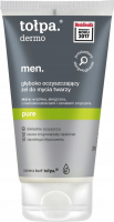 Tołpa - Dermo Men Pure - Deeply cleansing face wash gel for men - 150 ml