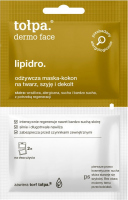Tołpa - Dermo Face Lipidro - Odżywcza maska kokon na twarz, szyję i dekolt - 2x6 ml