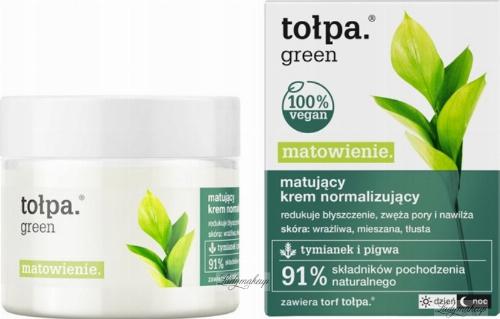 Tołpa - Green - Matujący krem normalizujący - Dzień / Noc - 50 ml