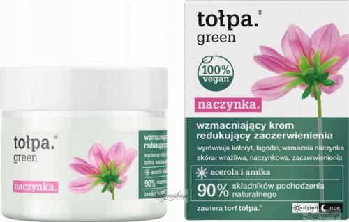 Tołpa - Green - Wzmacniający krem redukujący zaczerwienienia - Dzień / Noc - 50 ml