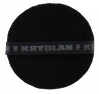 Kryolan - CZARNY puszek do pudru 10 cm - 1720
