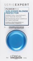 L'Oréal Professionnel - SERIES EXPERT - POWERMIX SUN-KISSED BLONDE PERFECTOR - Blondifier mask additive - Neutralizes copper reflections - 15 ml