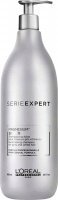 L'Oréal Professionnel - SERIES EXPERT - MAGNESIUM SILVER - NEUTRALISING SHAMPOO - Shampoo for gray and heavily bleached hair - 980 ml