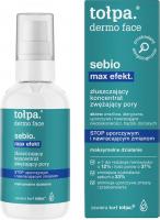 Tołpa - Dermo Face Sebio Max Efekt - Złuszczający koncentrat zwężający pory - 75 ml