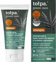 Tołpa - Green Men Energia - Energizujący lekki krem do twarzy z krótkim zarostem - Dzień / Noc - 50 ml