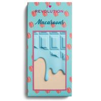 I Heart Revolution - MAKE UP PIGMENT PALETTE - MACAROONS - Paleta 18 cieni do powiek - (CIASTECZKOWA CZEKOLADA)