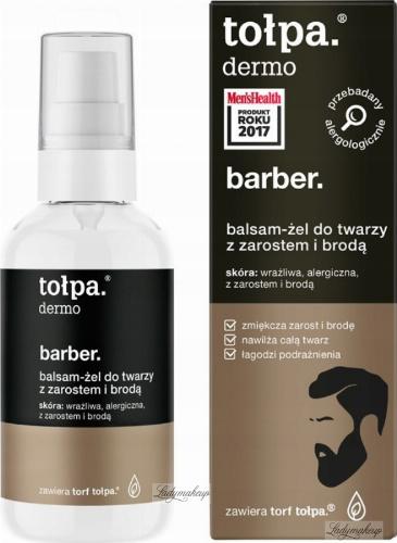 Tołpa - Dermo Barber - Balsam żel do twarzy z zarostem i brodą 75 ml