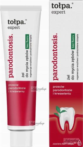 Tołpa - Expert Parodontosis - Żel do mycia zębów - 75 ml