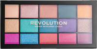 MAKEUP REVOLUTION - RELOADED SHADOW PALETTE - 15 eyeshadows - JEWELLED