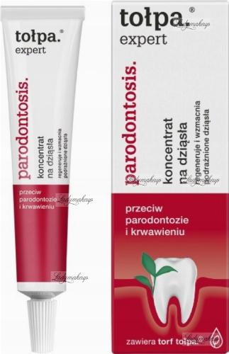 Tołpa - Expert Parodontosis - Koncentrat na dziąsła przeciw parodontozie i krwawieniu - 8g