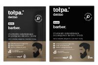 Tołpa - Dermo Barber - Chusteczki oczyszczające do pielęgnacji zarostu i brody - 8 sztuk