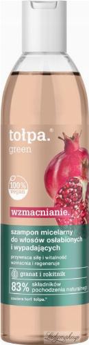 Tołpa - Green Wzmacnianie - Wzmacniający szampon micelarny do włosów osłabionych i wypadających - 300 ml