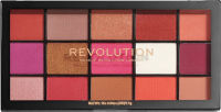 MAKEUP REVOLUTION - RELOADED SHADOW PALETTE - 15 eyeshadows - RED ALERT