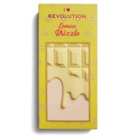 I Heart Revolution - MAKE UP PIGMENT PALETTE - LEMON DRIZZLE - Paleta 18 cieni do powiek - (CYTRYNOWA CZEKOLADA)