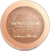 MAKEUP REVOLUTION - BRONZER RELOADED - Wypiekany bronzer do twarzy