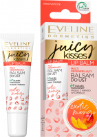 Eveline Cosmetics - JUICY KISSES - Lip Balm - Multi regenerujący balsam do ust - Mango - 12 ml