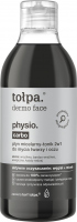 Tołpa - Dermo Face Physio Carbo - Micellar fluid / tonic for washing face and eyes - 400 ml