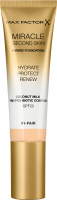 Max Factor - MIRACLE SECOND SKIN - HYBRID FOUNDATION - Moisturizing foundation with SPF20 filter - 30 ml
