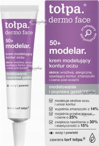 Tołpa - Dermo Face 50+ Modelar - Krem modelujący kontur oczu - 10 ml