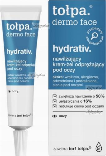 Tołpa - Dermo Face Hydrativ - Nawilżający krem żel odprężający pod oczy - 10 ml