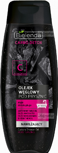 Bielenda - Carbo Detox - Charcoal Shower Oil - 440 g