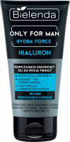 Bielenda - Only for Men - Hydra Force - Hyaluron - Moisturizing and soothing face wash gel for men - 150 g
