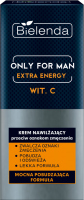 Bielenda - Only For Men - Extra Energy - Vit. C - Moisturizing anti-fatigue cream for men - 50 ml