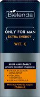 Bielenda - Only For Men - Extra Energy - Vit. C - Moisturizing anti-fatigue cream for men - 50 ml